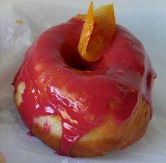 Blood Orange Glazed Donut