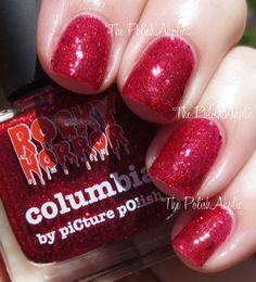 The PolishAholic: piCture pOlish Rocky Horror Picture Show Collection Swatches & Review