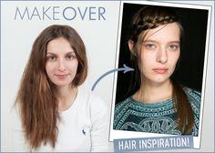 Υποδεχόμαστε την Άνοιξη με νέες ιδέες σε make up και μαλλιά! Και τις δοκιμάζουμε πρώτα σε εσένα!