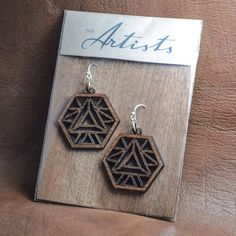 the_artists_design_studioElemental earrings. A new earring collection. The Artists is an online design company, specializing in jewellery and 3D design, as well as the curation of beautiful design pieces and art. Visit our Facebook page www.facebook.com/theartists.co.za #theartistsdesign #theartistsstudio #theartistsjewellery #jewelry #designer #art #design #imagineersdesignerscreators #jewellery #natural #wood #geometry #spiritual