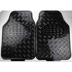 Heavy Duty All Weather borracha preta Mat 5 Pc Pads Car Floor Mats Dianteiro Traseiro – BRL R$ 129,50