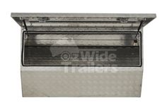 opening aluminium toolbox with checker plate. Tough Key lockable t-locks to keep your tools safe. Speak with our friendly staff today! Seam Welding, Tool Box, Decorative Boxes, Plates, Locks, Drawers, Key, Licence Plates, Dopp Kit