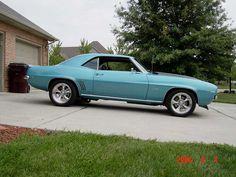 '69 Camaro....cool color
