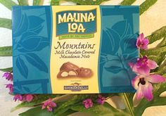Yummm Hawaiian Candy, Future Islands, Luau Food, Mauna Loa, Candy Boxes, Chocolate Covered, Food Ideas, Fun, Dreams