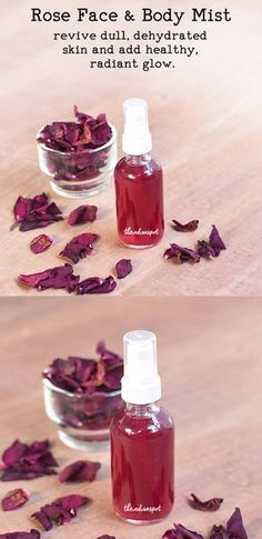 Rose Face and Body Mist to revive dry, dehydrated skin   THEINDIANSPOT