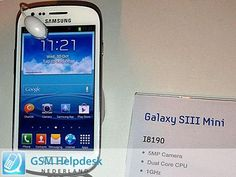 Samsung Galaxy S3 Mini Presentation Today: Official Photos, Price and Features