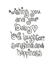 Baby Shower Quotes Card Sentiment  Cute Random Pics For The Fam Bam  Pinterest