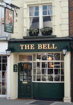 The Bell, on Bell street. Supposedly the narrowest pub in Britain. No idea if that's true.