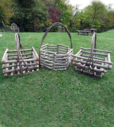 Item# 501 - Square Basket with Tapered Sides
