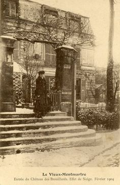 Old Montmartre Paris Paris 1900, Old Paris, Vintage Paris, Paris France, Antique Photos, Vintage Pictures, Old Pictures, Old Photos, Montmartre Paris