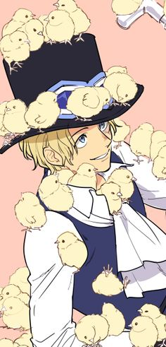 Sabo gets all the chicks!
