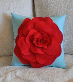 rose pillow pattern