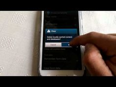 samsung galaxy s3 (CLEAR BROWSER HISTORY) - YouTube