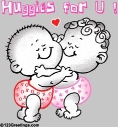 And Hug Kisse Glitter Graphics Hugs And Kisses Quotes, Hug Quotes, My Cute Love, Love Hug, Hug Images, Love Images, Healing Hugs, Glitter Gif, Les Gifs