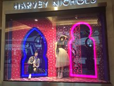 #Harvey Nichols #Ramadan ##Window Display at #Mall of the emirates #Dubai2015 #REA2015