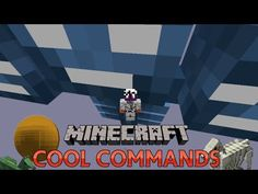 Minecraft Command Block - 5 Cool Commands - Huge Wither, Spheres, Secret Horses - YouTube