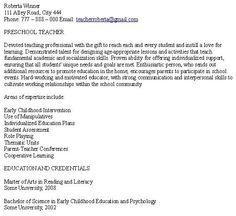 samples preschool teacher resume sample student resumes preschool teacher resume sample - Preschool Teacher Resume