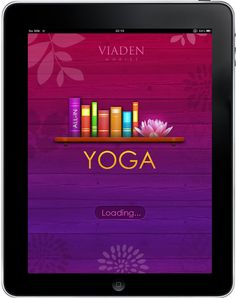 Yoga Free App for iPad - Clickable Demo