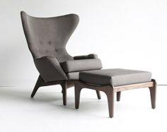 Mid Century Modern Design Lounge Chair by CraftAssociates on Etsy