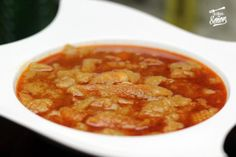 Receta de Sopa de ajo o Sopa Castellana.