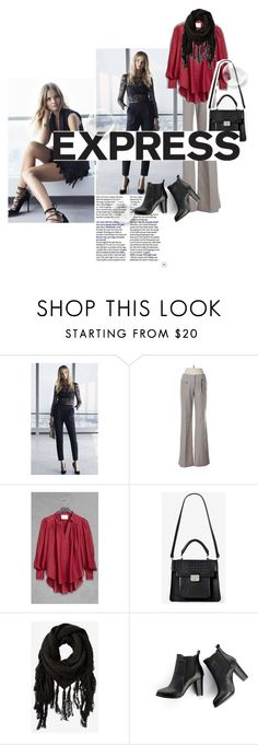 """""""Express"""" by rikadigimon13 ❤ liked on Polyvore featuring Express, SWEET MANGO, gorgeous, Model, express and Featured"""