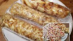 Hrníčkové muffiny s tvarohem a povidly – RECETIMA Hot Dog Buns, Hot Dogs, Gordon Ramsay, Sausage, Pancakes, Easy Meals, Easy Recipes, Cheesecake, Food And Drink