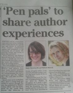 Writing Friends in Cleethorpes Chronicle
