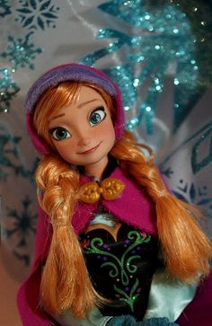 Anna of Arendelle OOAK - reworked by Lulemee, via Flickr