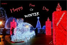 😍 Happy First Day of Winter! First Day Of Winter, Merry Christmas And Happy New Year