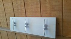 3 Dock Cleat Towel/Clothes Rack for Nautical by BarnMade4U on Etsy