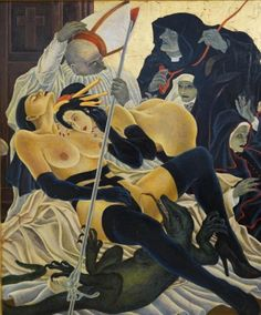 Masami Teraoka, The Cloisters Last Supper/Madonna and Geisha Pieta...