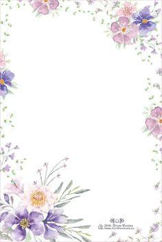 Rose Boarders And Frames, Text Frame, Floral Vintage, Invitation Background, Frame Clipart, Paper Frames, Floral Border, Flower Backgrounds, Note Paper