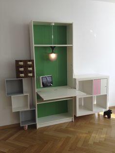 """Ikea BILLY desk """"Schwabinger 12″ from Saustarkdesign - IKEA Hackers"""