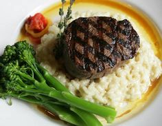 USDA Certified Piedmontese Beef Filet at #LaBisteccaItalianGrille