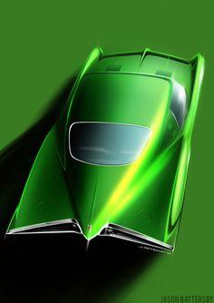 61 Pontiac XP-758Scorpion   BattMobile is more like Green Lantern
