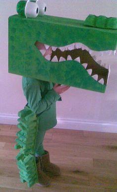 cardboard crocodile - Cerca con Google