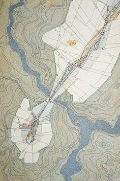DMZ Demilitarized Zone, 1988  by Lebbeus Woods