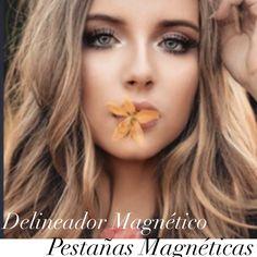 Magnetic eyeliner and magnetic eyelashes - Makeup Tips Yellow Nails, Black Nails, Pink Nails, Chrome Nails, Matte Nails, Makeup Set, Makeup Tips, Eyelash Kit, Wispy Lashes