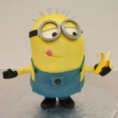 Minion cake | Mike's Amazing cakes                                                                                                                                                      Mais