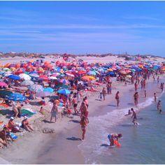 A Praia da Barra & A Multidão!!!