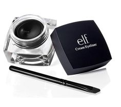 Cream Eyeliner Make up Eyes with ELF Cosmetics Black Best Selling branded easy to use Beauty product lips and nails fashion with eyes and face skin care Gel Eyeliner, Elf Eyeshadow, Pigment Eyeshadow, Eyeshadow Primer, Brow Gel, Black Eyeliner, Benefit Cosmetics, Eyeliner, Makeup Products