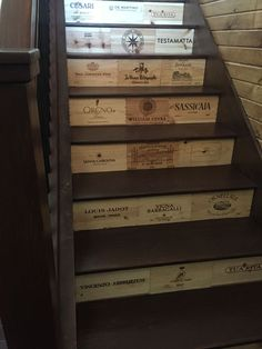 Image result for wine boxes as shelves bathroom