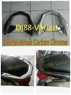 Tutup behel nmax carbon chrome cover behel carbon chrome yamaha nmax aksesoris nmax variasi nmax cover behel nmax belakang