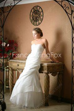 fancyflyingfox.com Offers High Quality Sweetheart Neckline A-line Full Length…