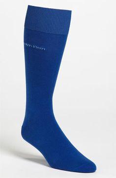 Men's Calvin Klein 'Giza' Socks - Blue