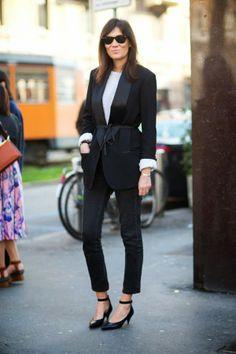 Moda de Rua: Skinny Jeans   Scarpin de Bico Fino - Streetstyle: Skinny Jeans   Pointed Pumps