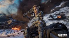 Download Battery Call of Duty Black Ops 3 Specialist 4k Girl Soldier 3840x2160 ---- kenetic armor is