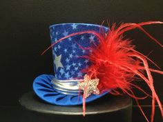 Red White Blue Silver Star 4th of July Mini Mad by daisyleedesign, $29.95