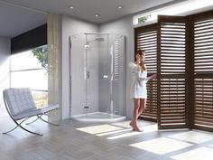 Matki New Illusion Quintesse - luxury shower enclosures
