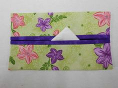 Field of Flowers Tissue Cozy/Gift Card Holder by NotWithoutAnnette, $3.00